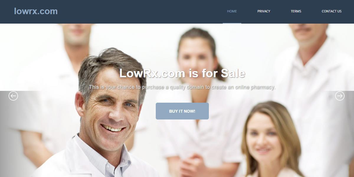 LowRx.com Domain for Sale