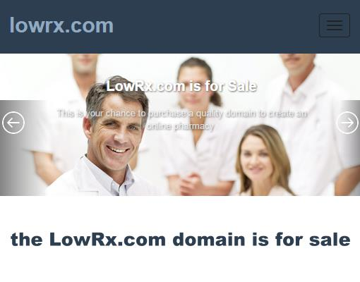 LowRx.com Domain for Sale